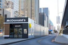 Έξοδος του ΠΕΚΙΝΟΥ McDonalds στοκ φωτογραφίες