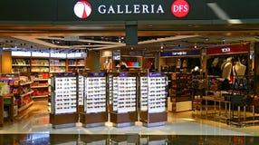 Έξοδος Χογκ Κογκ duty free αγορών galleria Dfs Στοκ Εικόνες
