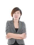 Έξυπνη ασιατική επιχειρησιακή γυναίκα Στοκ Φωτογραφίες