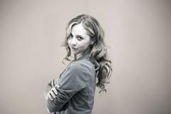 Έξυπνη γυναίκα Στοκ Φωτογραφία