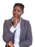 Έξυπνη επιχειρηματίας από την Αφρική Στοκ φωτογραφίες με δικαίωμα ελεύθερης χρήσης