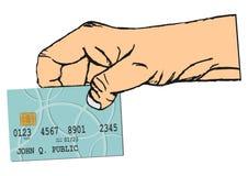 Έξυπνη κάρτα Στοκ Εικόνα