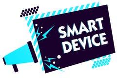Έξυπνη συσκευή κειμένων γραφής Έννοια που σημαίνει την ηλεκτρονική συσκευή που ικανός να συνδέσει το μερίδιο αλληλεπιδράστε με Me απεικόνιση αποθεμάτων