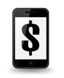 Έξυπνη τηλεφωνική αξία Στοκ Εικόνες