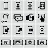 Έξυπνη τηλεφωνική επικοινωνία, κλήση, τηλέφωνο Στοκ εικόνα με δικαίωμα ελεύθερης χρήσης