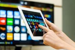 Έξυπνη TV Στοκ Εικόνες