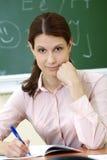 έξυπνος δάσκαλος Στοκ φωτογραφία με δικαίωμα ελεύθερης χρήσης