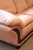 έξυπνος καναπές δέρματος Στοκ φωτογραφίες με δικαίωμα ελεύθερης χρήσης