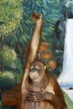 έξυπνος πίθηκος στοκ φωτογραφία με δικαίωμα ελεύθερης χρήσης