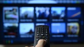 Έξυπνος τηλεχειρισμός πίεσης TV και χεριών φιλμ μικρού μήκους