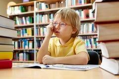Έξυπνο αγόρι στοκ φωτογραφίες με δικαίωμα ελεύθερης χρήσης