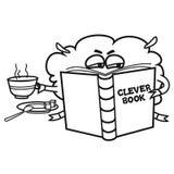 Έξυπνο βιβλίο Στοκ Εικόνες