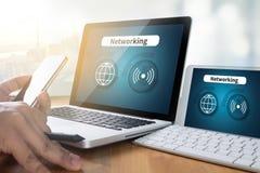 Έξυπνο εικονίδιο κουμπιών εικονιδίων δικτύων Ίντερνετ, ΔΙΚΤΥΩΣΗ Στοκ εικόνα με δικαίωμα ελεύθερης χρήσης
