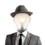 Έξυπνο κεφάλι στοκ φωτογραφία