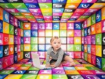 Έξυπνο μέλλον Στοκ εικόνα με δικαίωμα ελεύθερης χρήσης