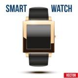 Έξυπνο παράδειγμα σχεδίου wristwatch Στοκ Φωτογραφία