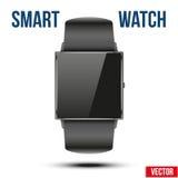 Έξυπνο παράδειγμα σχεδίου wristwatch Στοκ Εικόνα