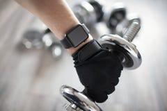 Έξυπνο ρολόι ικανότητας σε διαθεσιμότητα στοκ φωτογραφία με δικαίωμα ελεύθερης χρήσης