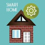 Έξυπνο σπίτι με την υπηρεσία οργάνωσης εργαλείων Στοκ Φωτογραφίες