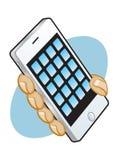 Έξυπνο τηλέφωνο App γραφικό απεικόνιση αποθεμάτων