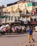 Έξω από τα κτήρια στο Δελχί Στοκ Φωτογραφία