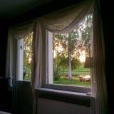 έξω παράθυρο όψης Στοκ Φωτογραφίες