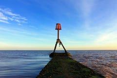 Έξω στη θάλασσα Στοκ φωτογραφίες με δικαίωμα ελεύθερης χρήσης