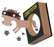 Έξω τρέχοντας το νόμο ελεύθερη απεικόνιση δικαιώματος