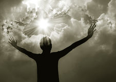 Έπαινος γυναικών ο Λόρδος Στοκ φωτογραφία με δικαίωμα ελεύθερης χρήσης
