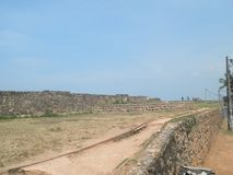 Έπαλξεις Galle Σρι Λάνκα στοκ φωτογραφίες