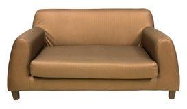 Έπιπλα καναπέδων που απομονώνονται στο λευκό Στοκ φωτογραφία με δικαίωμα ελεύθερης χρήσης