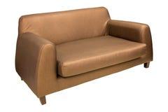 Έπιπλα καναπέδων που απομονώνονται στο λευκό Στοκ Εικόνα