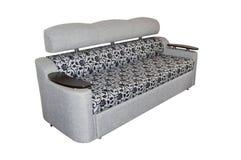έπιπλα που επικαλύπτοντα σύγχρονος καναπές Στοκ Φωτογραφία