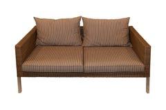Έπιπλα καθισμάτων Patio Στοκ φωτογραφία με δικαίωμα ελεύθερης χρήσης