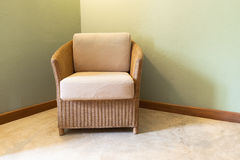 Έπιπλα καναπέδων Στοκ Εικόνα