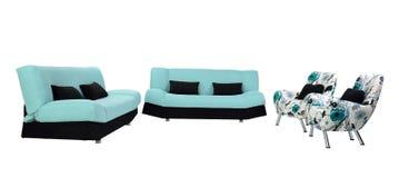 Έπιπλα καναπέδων Στοκ φωτογραφία με δικαίωμα ελεύθερης χρήσης