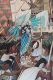 Έπος της μεξικάνικης τοιχογραφίας ανθρώπων στοκ εικόνες