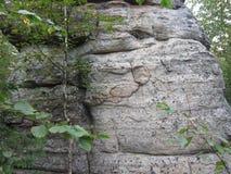 Έργα ζωγραφικής βράχου Στοκ εικόνα με δικαίωμα ελεύθερης χρήσης