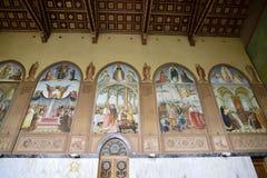 Έργα ζωγραφικής εκκλησιών Visitation, Ιερουσαλήμ Στοκ Εικόνες