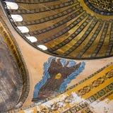 Έργα ζωγραφικής στην αρχαία βασιλική Hagia Sophia Στοκ εικόνες με δικαίωμα ελεύθερης χρήσης