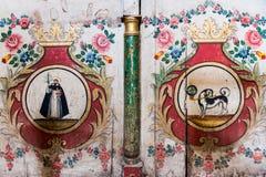 Έργα ζωγραφικής στο Santa Catalina Monastery Στοκ φωτογραφία με δικαίωμα ελεύθερης χρήσης