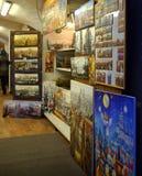 Έργα ζωγραφικής της Πράγας Στοκ φωτογραφία με δικαίωμα ελεύθερης χρήσης