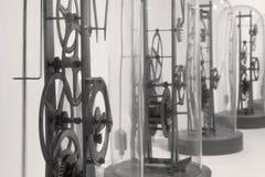 Έργα ρολογιών σε B&W Στοκ εικόνες με δικαίωμα ελεύθερης χρήσης