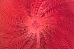 Έργο τέχνης με το κόκκινο κουμπί και το κόκκινο κλωστοϋφαντουργικό προϊόν Στοκ εικόνες με δικαίωμα ελεύθερης χρήσης