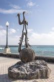 Έργο τέχνης στον περίπατο Arrecife Lanzarote Στοκ φωτογραφία με δικαίωμα ελεύθερης χρήσης