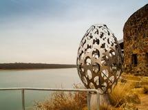 Έργο τέχνης στο κέντρο φύσης, λίμνη Murray, Οκλαχόμα Στοκ φωτογραφία με δικαίωμα ελεύθερης χρήσης