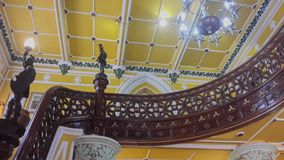 Έργο τέχνης στο παλάτι Banglaore, Bengaluru, Ινδία στοκ εικόνα