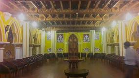 Έργο τέχνης στο παλάτι Banglaore, Bengaluru, Ινδία στοκ φωτογραφίες με δικαίωμα ελεύθερης χρήσης