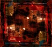 έργο τέχνης τέχνης grunge σύγχρονο Στοκ Εικόνες
