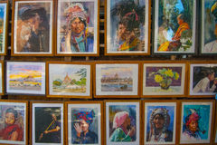 Έργο τέχνης του Μιανμάρ Στοκ Φωτογραφία
